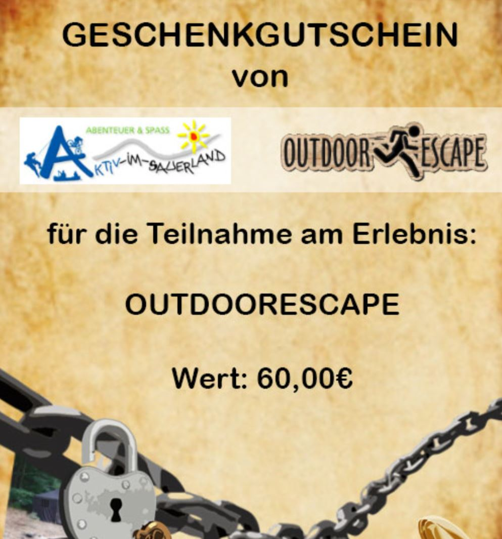 Outdoorescape Am Schloßberg